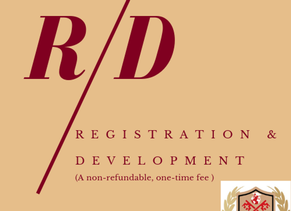 Registration & Development Fee