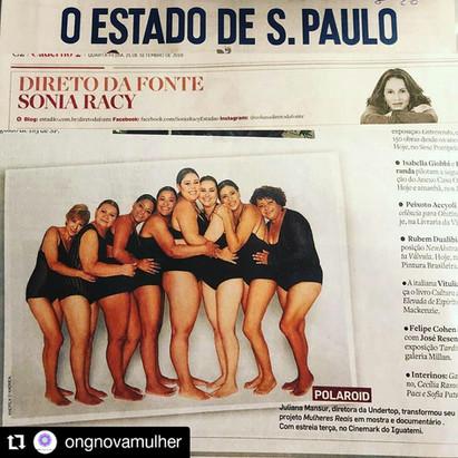 Matéria no  O Estado de São Paulo