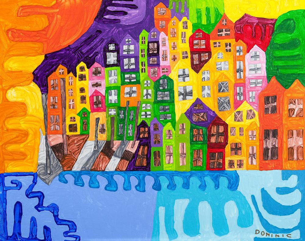 Harborside Painting