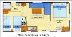 mobil home ibiza plan