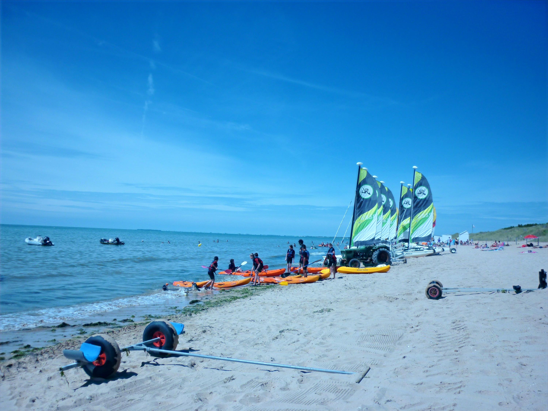 plage pole nautique