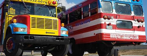 Party bus, chiva colobiana, Brickell, downtown miami, wynwood