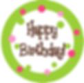 Celebra tu cumpleaños. Celebrate your birthday with us.