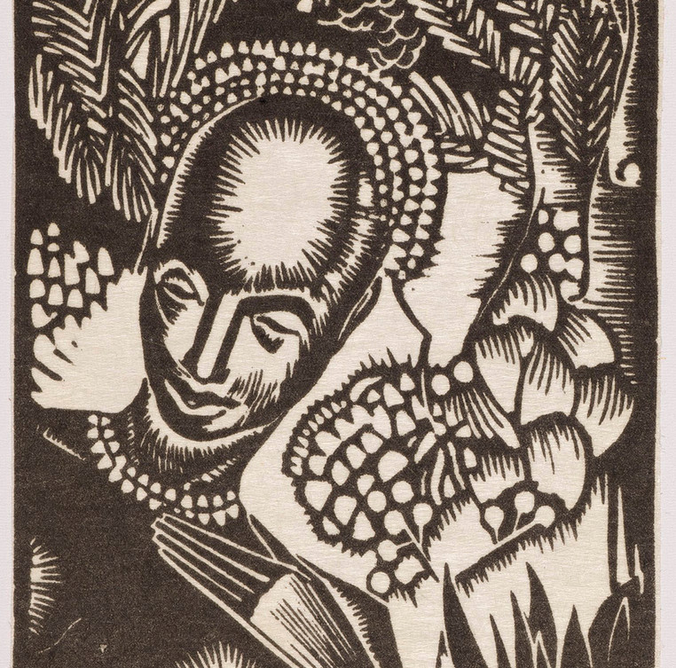 African Headdress, 1931-1940.
