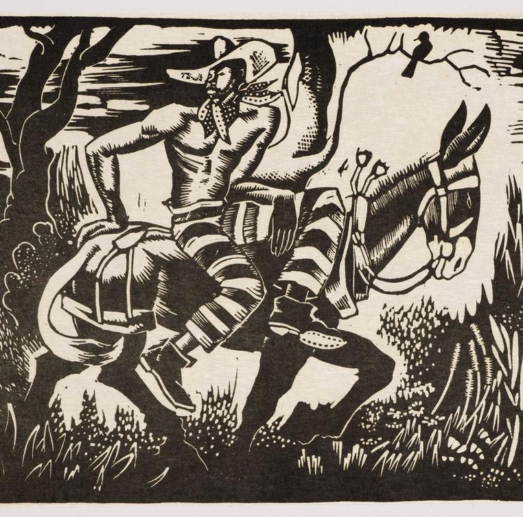 Trusty on a Mule, 1931-1940.