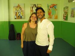 Anísia Marques, bailarina