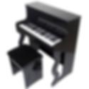 Albach Pianos Infantil Preto Luxo e Elegância AL8