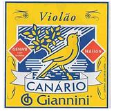 Encordoamento Violão Nylon Canário Com Bolinha Giannini