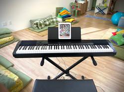 Sala de aula de música