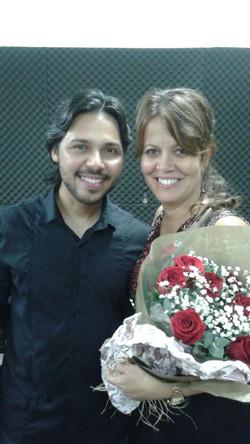 Leandro Rocha e Betania Franklin