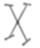 Suporte Ask X10s Teclado Musical Estante Pedestal Até 30kg