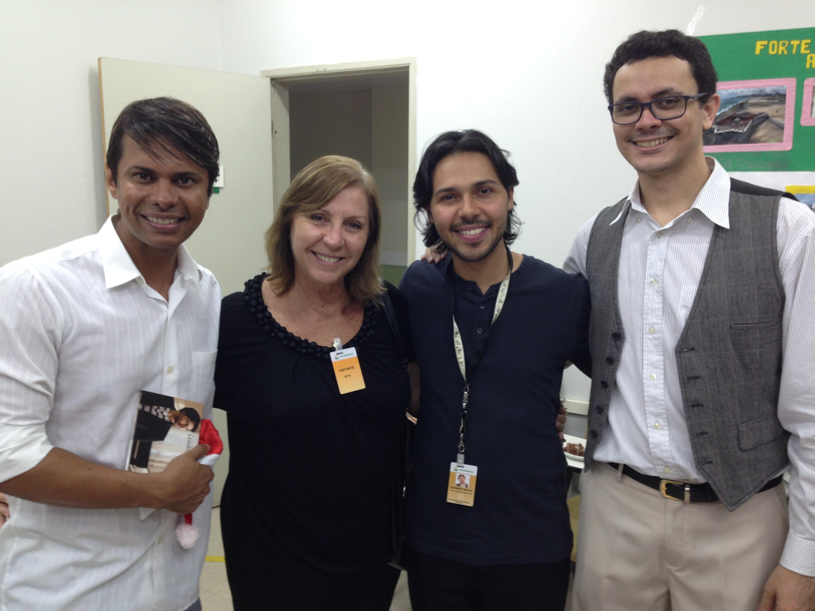 Diana Fontes,Leo Prata e Hárisson D.