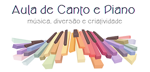 Logo Aula de Canto e Piano