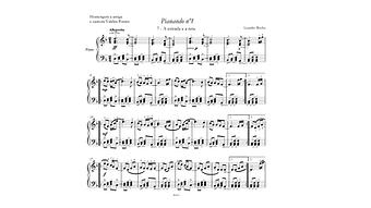 partituras piano e canto