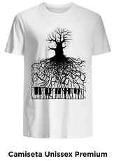 Camiseta unissex Raízes Musicais