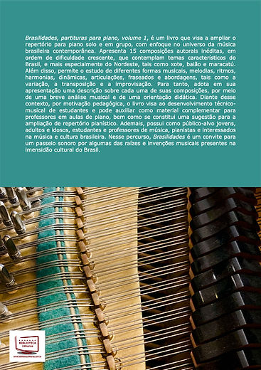 Brasilidades - partituras para piano volume 1 - Leandro Rocha