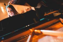 Concerto de Fim de ano - Aula de canto e piano