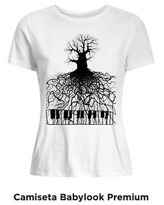 Camiseta babylook Raízes Musicais