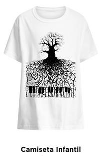 Camiseta infantil Raízes Musicais