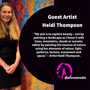 In Search of the Light with Guest Artist Heidi Thompson E003  Click to Listen