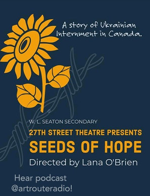 The Sunflower Project Seeds of Hope with Guest Lana O'Brien #004  Click to Listen