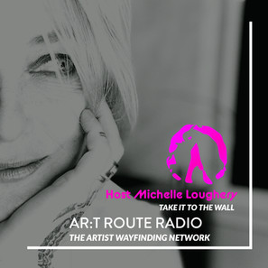 Master Artist Michelle Loughery Hosts AR:T Route Radio Trailer.  Click to Listen