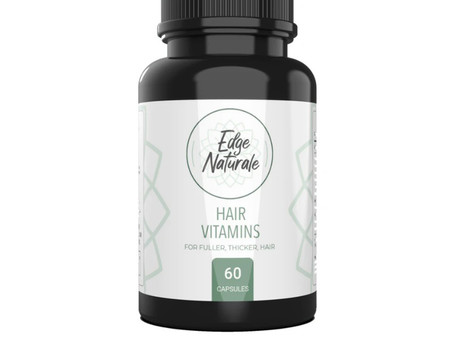 New Hair Care Product:  Edge Naturale Hair Vitamins