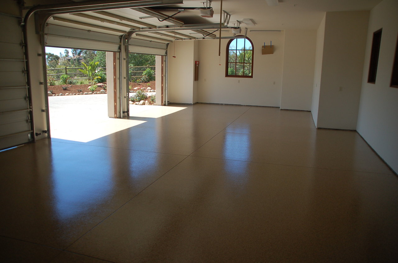 Garage Epoxy, San Diego