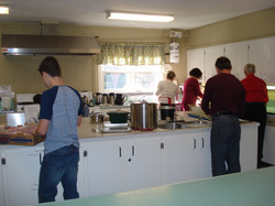 Busy in the Kitchen