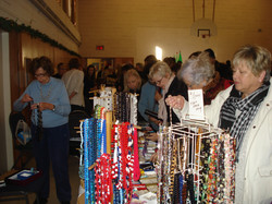 Checking out the Jewelry Table