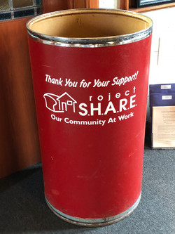 Donations for Project Share