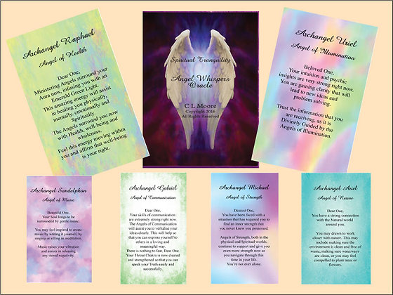 Spiritual Tranquility Angel Oracle  - 2nd Edition