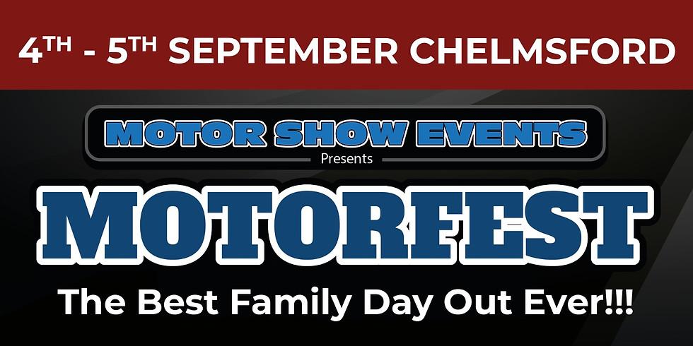 MotorFest 2021  Saturday 4th & Sunday 5th September.