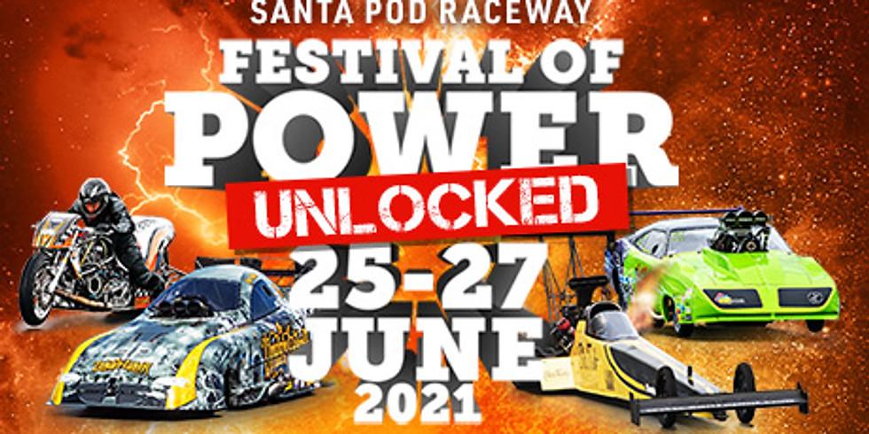 Festival of Power - 26th - 27th June 2021