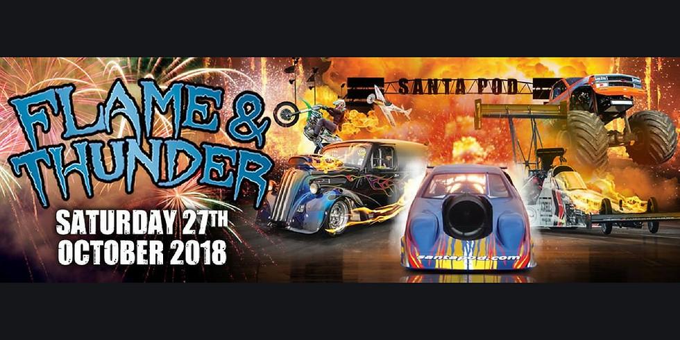 Flame and Thunder - Santa Pod