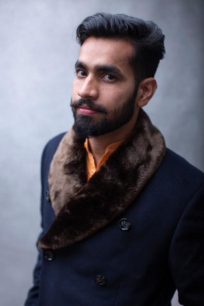 Portrait d'Akshay Dhiman, Mister India
