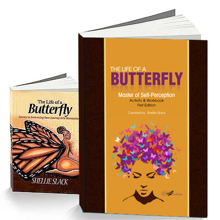 The Life of a Butterfly Book + Activity Book
