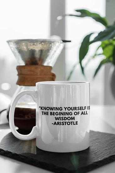 Journal W/ Me Inspiration Mugs: Knowing Yourself