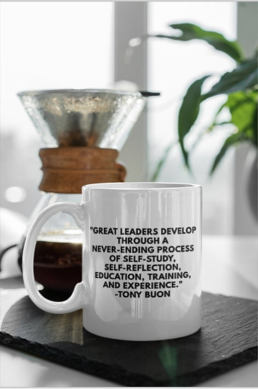 Journal W/ Me Inspiration Mugs: Great Leaders