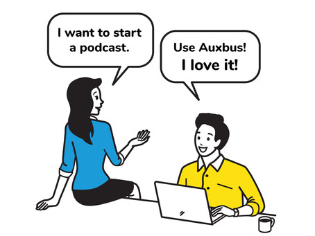 Get paid to tell your friends about Auxbus