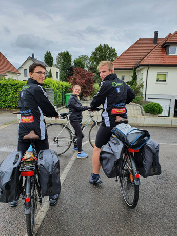 Sortie entrainement vélo