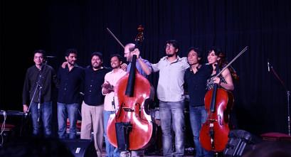 """Presentación de disco """"A cielo abierto"""", Teatro Nuna, La Paz, 2016"""