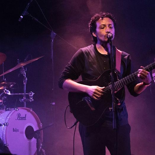 Marcelo Arias en concierto