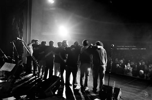 """Presentación de disco """"Amanecer en menor"""", Teatro Municipal, La Paz, 2013"""