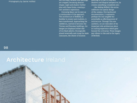 Conveying Space review by Andrew Campion in Architecture Ireland
