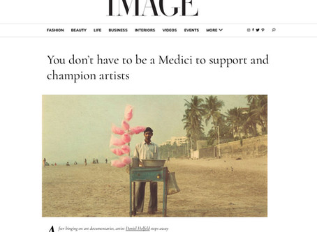 You don't have to be a Medici to support and champion artists