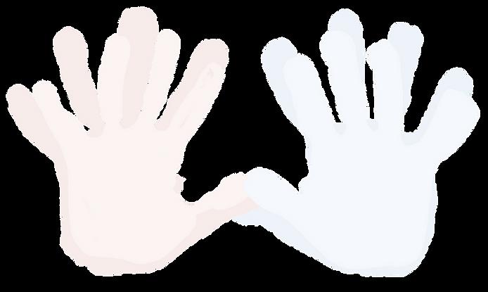 Parent and Child Handprints