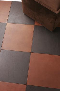 Floor Leather Tiles