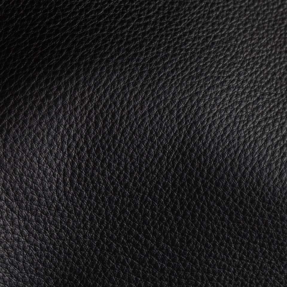 Deer Run Black Leather Tile