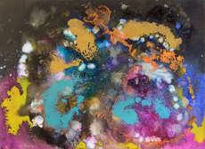 christine-jolly-christinejolly-art-paris-artiste-peintre-dessin-spiritualité-Loving Universe